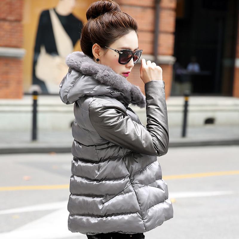 Женская утепленная куртка Clothing Xin language 05122635 2014 Pu
