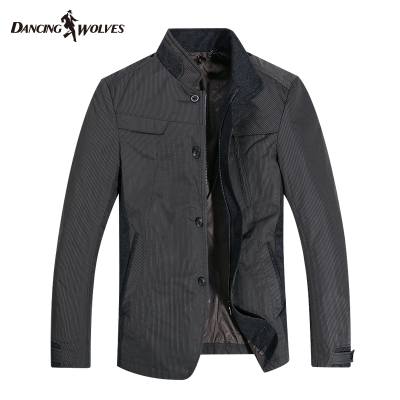 3% off discount code Dances with Wolves men's jacket men's jacket collar jacket authentic 1408