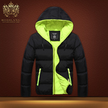 Winter sweethearts outfit Han edition cultivate one's morality fashion men hooded down warm cotton rib cotton-padded clothes Men's jacket