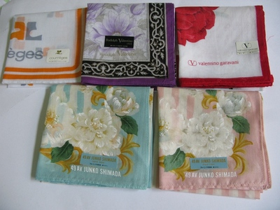Ms Japan authenticity and wind flower series cotton thin handkerchief square handkerchief gift / 42 cm/C12