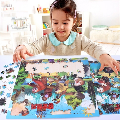 300 -500 piece wooden jigsaw puzzle adult children cartoon puzzle wooden toy blocks 1000