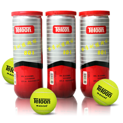 Genuine Teloon / Denon T801 P3 tennis training barrel / cask beginner highly flexible wearable three loaded