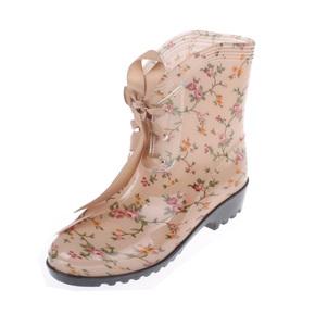 鸿彤彤时尚雨鞋女士时尚防滑水鞋套鞋短筒雨靴胶鞋水靴韩版新1208