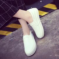 2016春夏季新款单鞋韩版女鞋小白鞋休闲运动鞋学生鞋女平底板鞋潮
