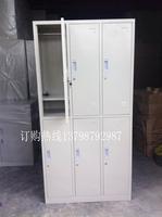 办公家具办公铁柜 东莞深圳广州员工更衣柜 六门八门带挂衣杆柜