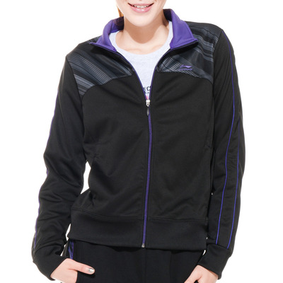 Clearance shipping official authentic Li Ning sports women's tennis series cardigan sweater no cap AWDF602