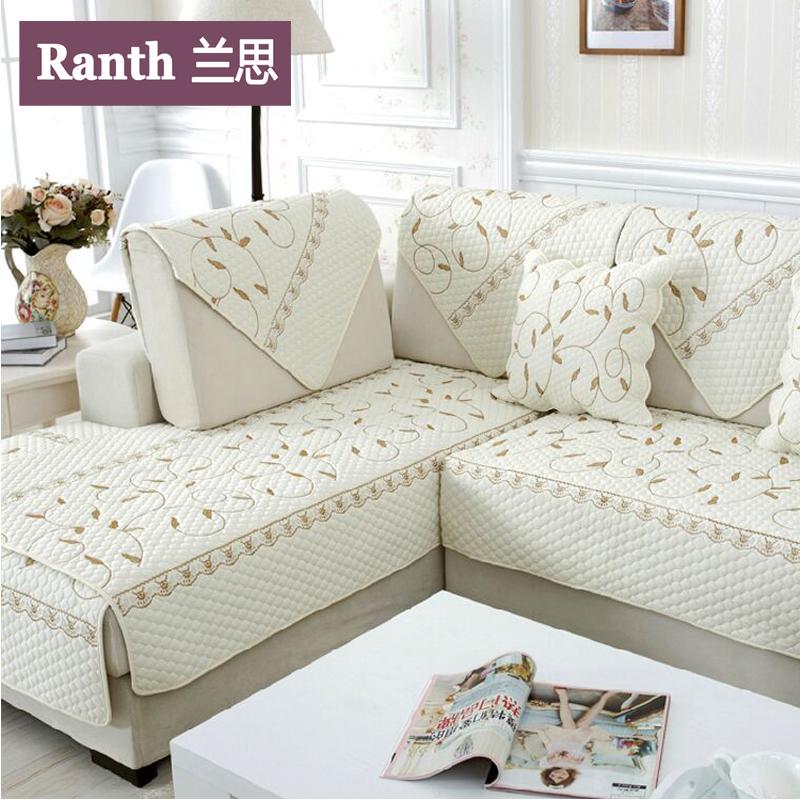 布艺沙发布垫_高档沙发垫布艺防滑时尚欧式组合沙发坐垫四季沙发套巾全盖定做