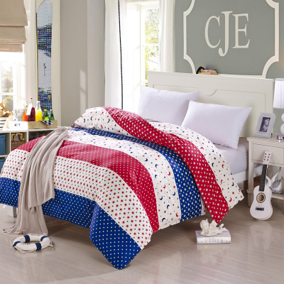 Mercury is a single piece of cotton quilt lovers 150,200,230 dormitories single double quilt cotton bedding