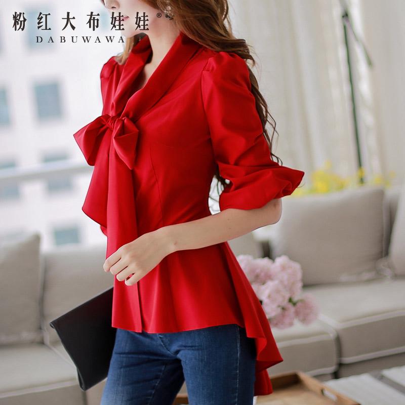 женская рубашка Big pink cloth doll d14cst292