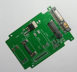 MINI PCI-E/mSATA TO SATA3_MINI pcie/mSATA转2.5寸SATA3转接卡