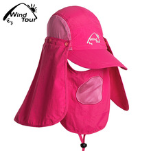 Spring and summer outdoor sun uv cap folding men and women riding sun hat beach jungle fisherman fishing hat