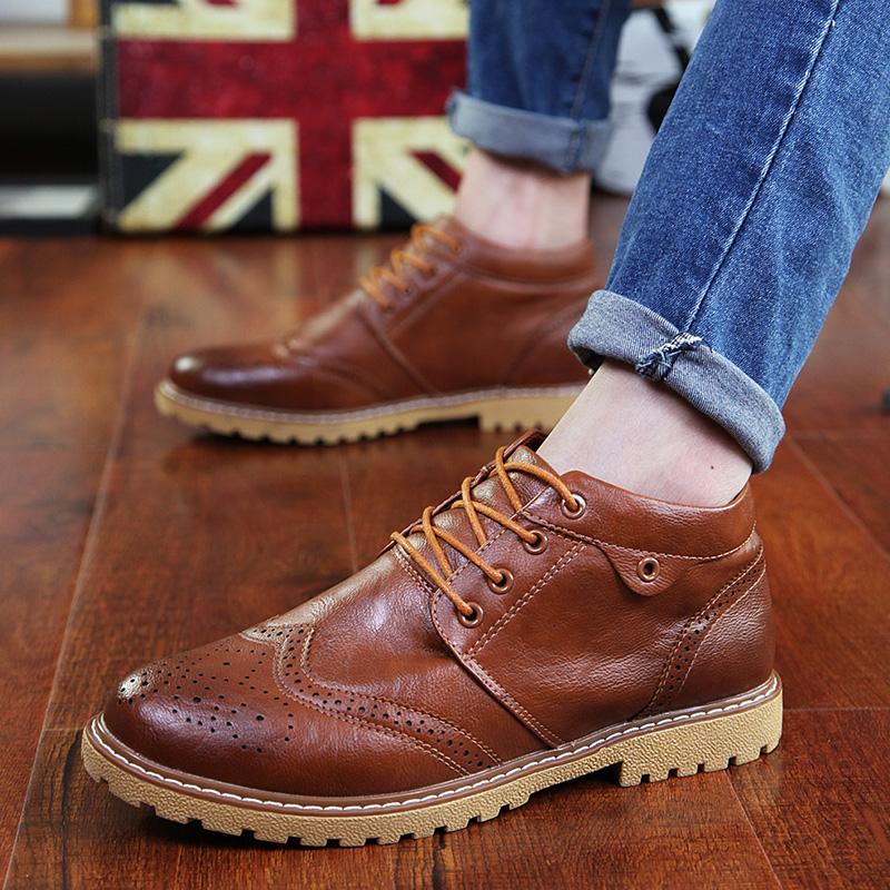 Модные ботинки осенние мужские