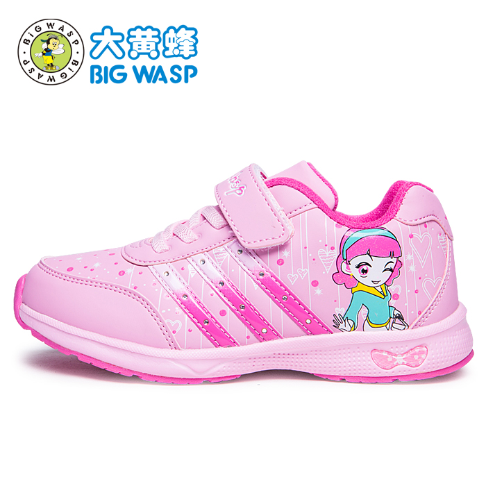 BIG WASP Kids shoes, 2013 girl sneaker winter and autumn tourist shoes Taobao Agents