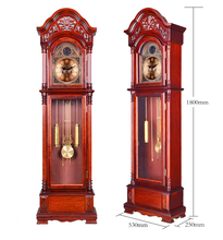 Polaris full copper machine hour feng shui town curtilage bent wood living room package mail small mechanical grandfather clock