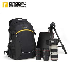 安诺格尔 休闲单反相机包双肩摄影包佳能尼康数码相机包背包A2343