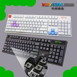 Keycool Kay cool 104 II II Team Edition new non-rushed mechanical keyboard black white
