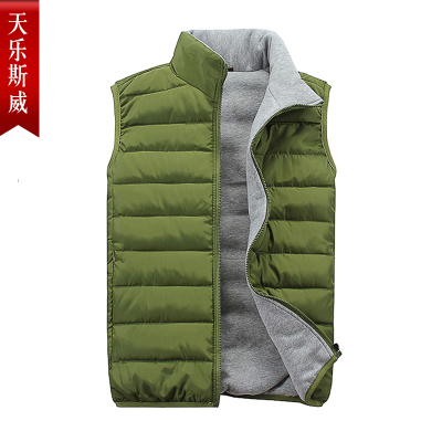 Tin Lok Swaziland cotton vest collar men fall and winter fashion casual Slim small fresh lovers vest