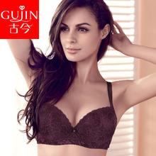 古今商场同款文胸美背bra上薄下厚聚拢内衣上托女小胸性感胸罩图片