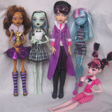 Genuine ㊣ Mattel bulk headless monster monster high school principal ferrite lead and clothes