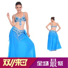 Belly dance outfit - a new bra + fine waist skirt Q03 T6301 + ears