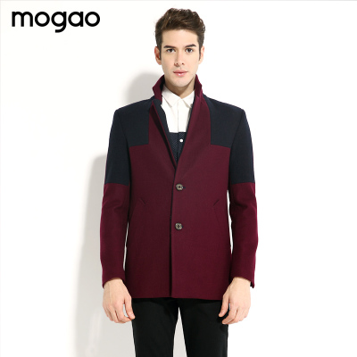 MOGAO / Mogo new fall 2014 men's fashion casual trend thick woolen coat W451543008
