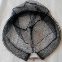 特价抄网头直径40可折叠抄网 3折方便携带 密眼不锈钢圈 防挂鱼