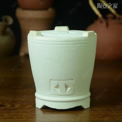 The wind furnace chaozhou charcoal stove white clay sand carbon furnace burn oven manual carbon furnace Diao simmering time tea stove jade teapot book bag mail