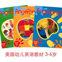 幼儿童英语教材 美国早教启蒙英语 fingerprints 123学生书 3-6岁