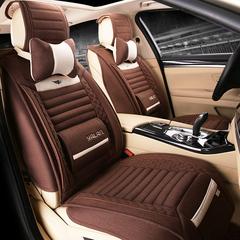 汽车坐垫四季通用全包座垫夏专用长安沃尔沃S80L S60L XC60 XC