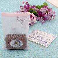 现货手工皂起泡网打泡网可挂皂出口日本网袋 批发包邮