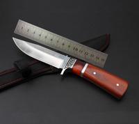 新品野外刀具登山必备高硬度军刀超锋利直刀户外小直刀多功能小刀