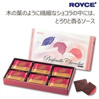 预定 日本北海道 ROYCE chocolate 生巧克力 草莓蜂蜜夹心薄片 30