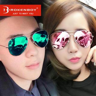 2017新款墨镜女潮韩国时尚偏光太阳镜圆脸明星同款太阳眼镜男眼睛