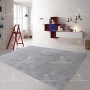 时尚腈纶羊毛创意地毯卧室客厅满铺定制LOGO地垫门垫灰色坐垫