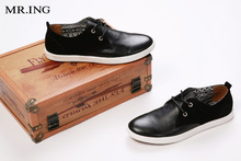 , because Mr. ING new leather men's shoes British fashion low help A711 leisure men's leather shoes