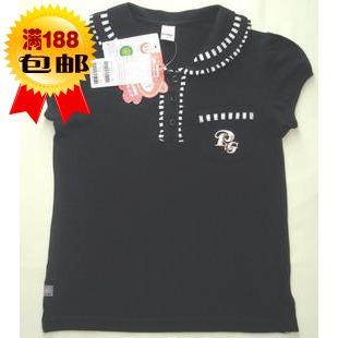 小猪班纳女童装 有袋反领T恤192002244特价