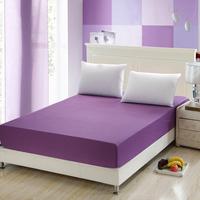 纯棉床笠单件全棉床笠防滑席梦思床垫套保护罩1.5/1.8纯色床包