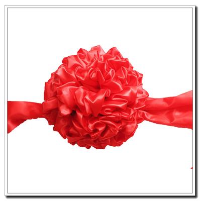 开业大红花球剪彩套装剪彩花球 新车交车大红花表彰颁奖大红花球