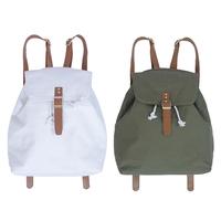 日本昕薇新款女包潮街头抽绳尼龙中小旅行双肩包休闲水桶背包