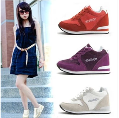 Authentic Korean HUKUYU increased higher in summer shoes 8 cm (leisure, tourism, sports)
