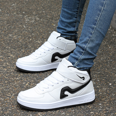 Korean version of the trend of male shoes young students sports high-top shoes men's 2014 new winter tide shoes