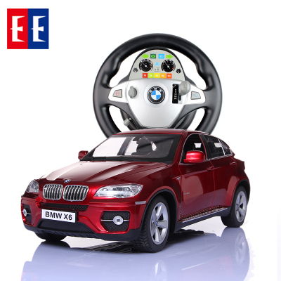 Double Eagle BMW X5 X6 remote control car remote control car charging large children's toy car steering wheel remote control car