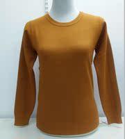 青藏绒羊毛衫6010羊毛羊绒混纺修身圆领纯色女新款打底衫五折包邮