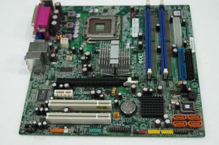 Original Red Crown Lenovo motherboard L-I945GC 945GC-M2 support dual quad with PCI-e slot