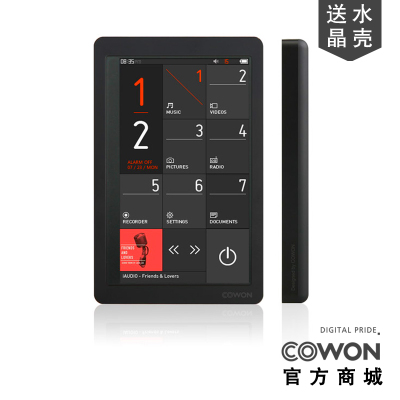 iAUDIO COWON X9 16G iAudio Korean production of high-end touch screen MP4 player HIFI genuine licensed