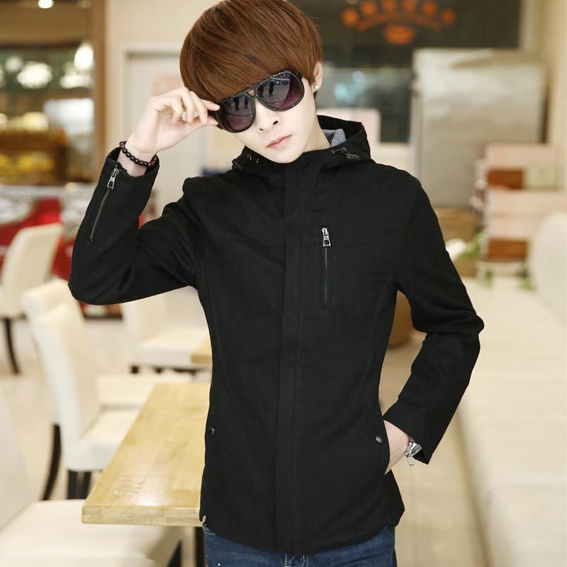 余越男装2015年新款特价男韩版春季修身夹克衫休闲青少年外套潮