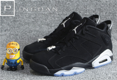 平淡鞋店 Jordan 6 Low Black Chrome AJ6黑银 768881-304401-003