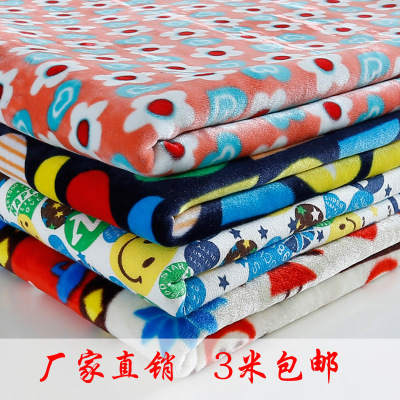 Thick silver fox super soft fleece warm winter flannel underwear material does not fall velvet tracksuit sweater fabric