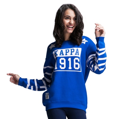 K Kappa / back-official flagship store authentic sports and leisure insurance female pullover K0462WT31