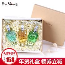 精美礼盒 芬尚香水礼盒女士香水持久淡香 元素之盒30ml*3正品包邮